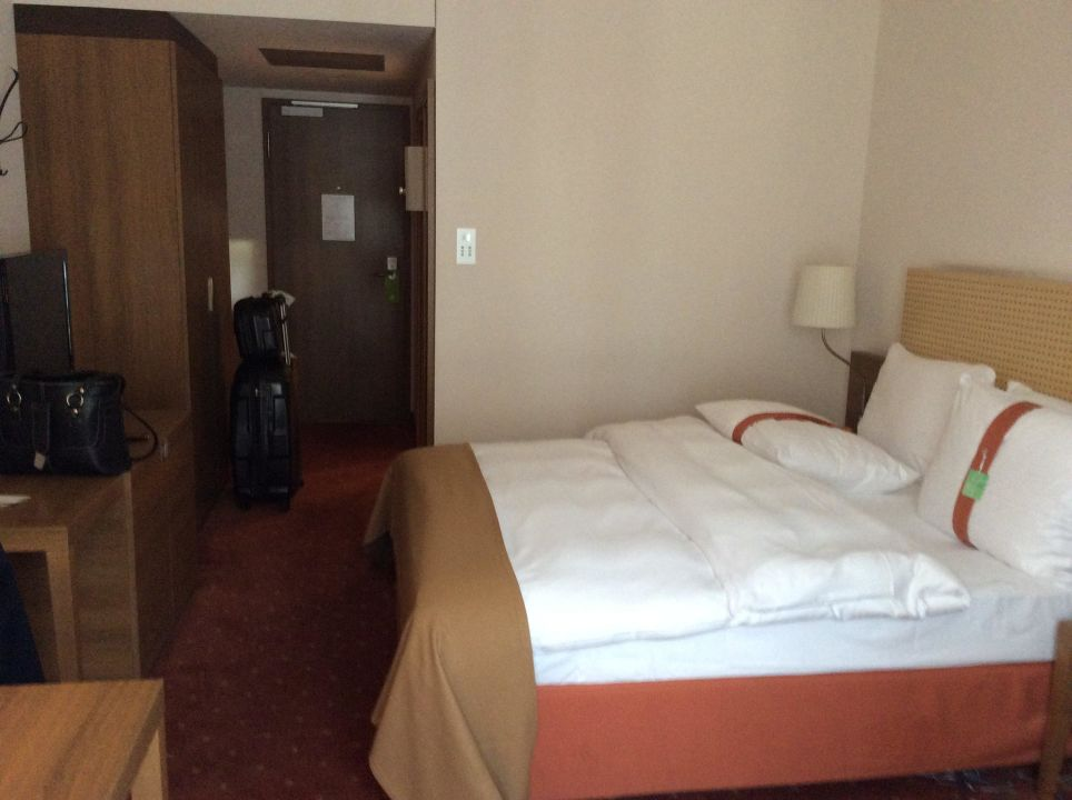 Doppelbett Hotel Holiday Inn Nürnberg City Centre