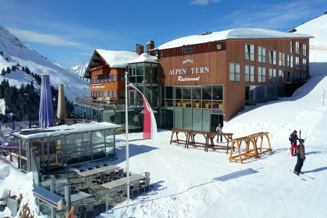 Blick Vom Sessellift Hotel Alpenstern Damuls Holidaycheck