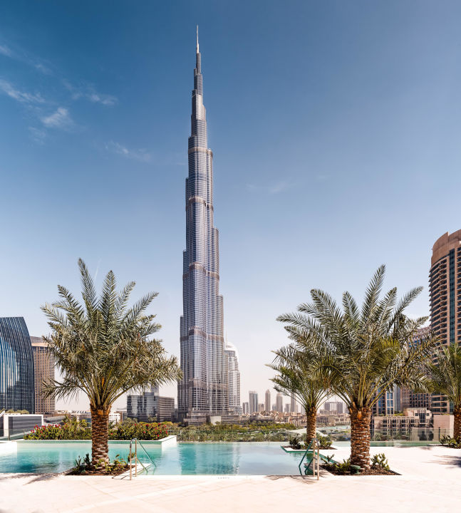 Pool Sofitel Hotel Dubai Downtown