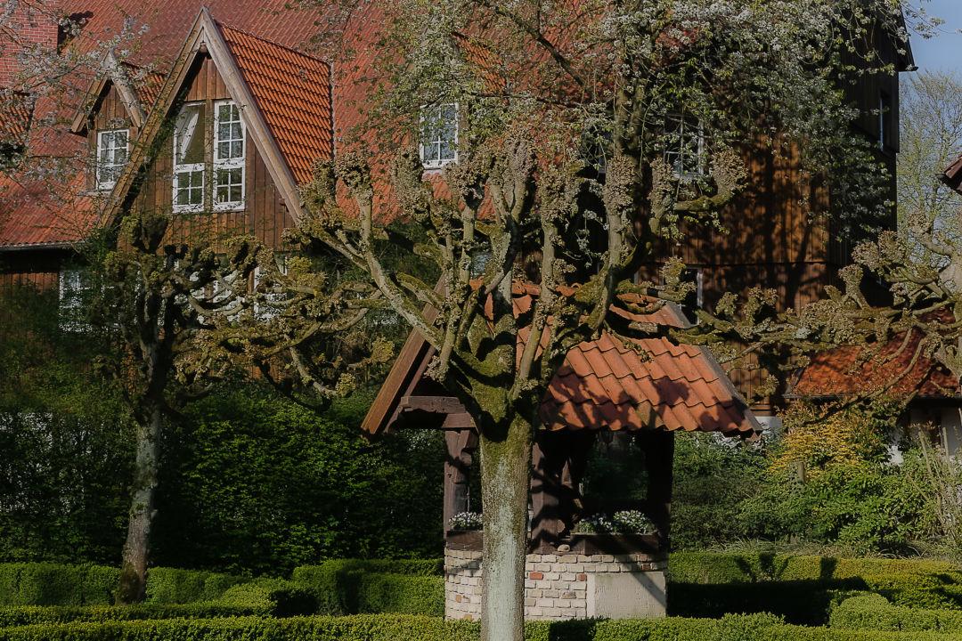 Gartenanlage Romantik Hotel Hof zur Linde