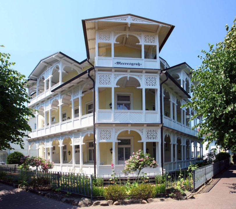 Villa Meeresgruß in Binz auf Rügen Hotel Garni Villa Meeresgruss