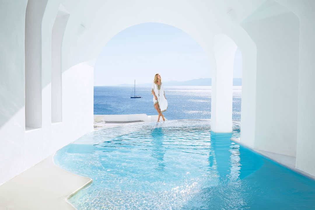 Pool Mykonos Blu, Grecotel Exclusive Resort