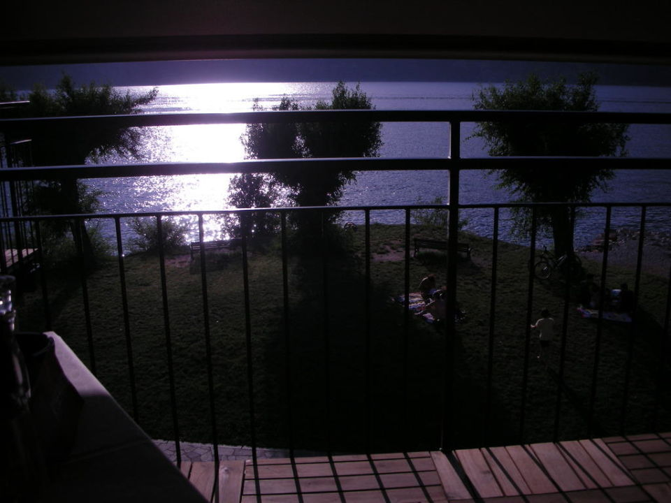 Ausblick vom Balkon des Restaurants Ambienthotel PrimaLuna
