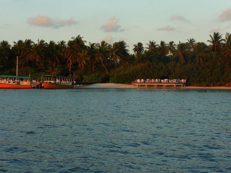 Sonnenuntergang Hotel Embudu Village