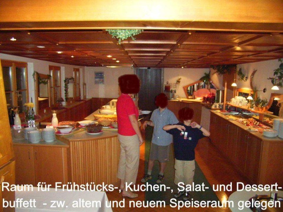 Buffetbereich Hotel Widderstein