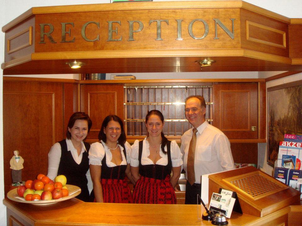Rezeption Hotel Zum lieben Augustin