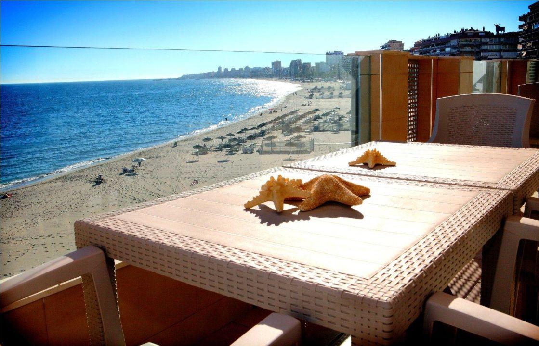 Apartment views Aparthotel Vegasol-Playa