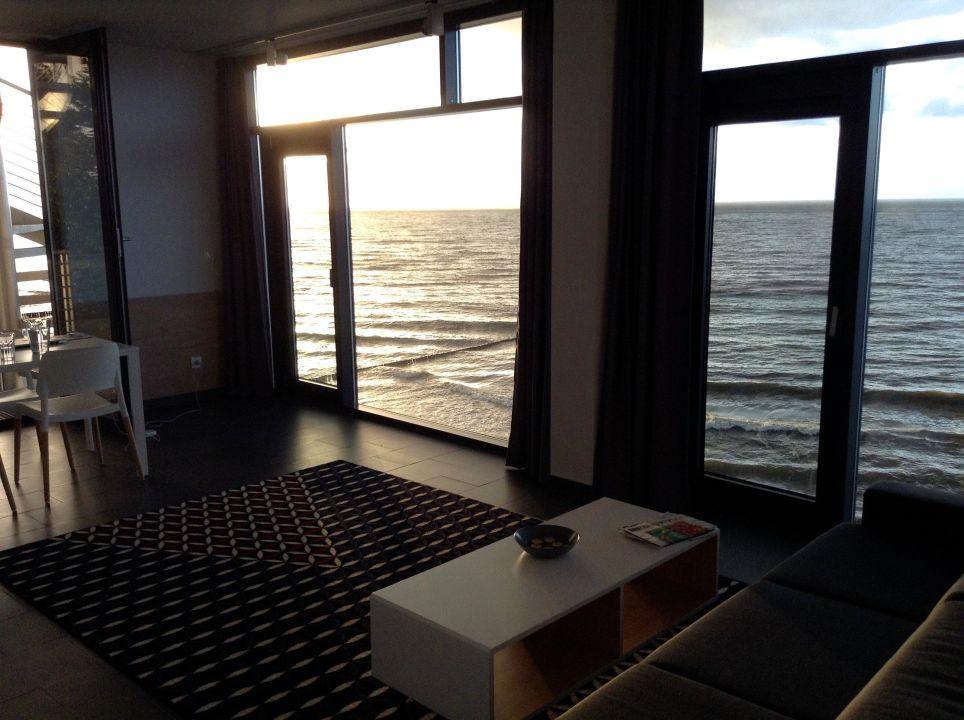 """ein traum: wohnzimmer mit direktem meerblick"""" boulevard ustronie, Wohnzimmer dekoo"""