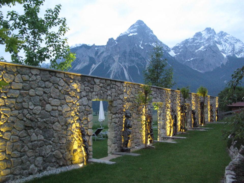 Impressionen bei Nacht Hotel Mohr Life Resort