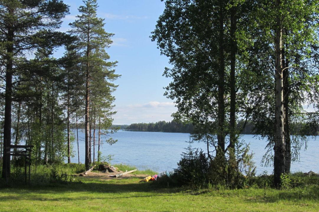 Blick auf den See Hotel Saija