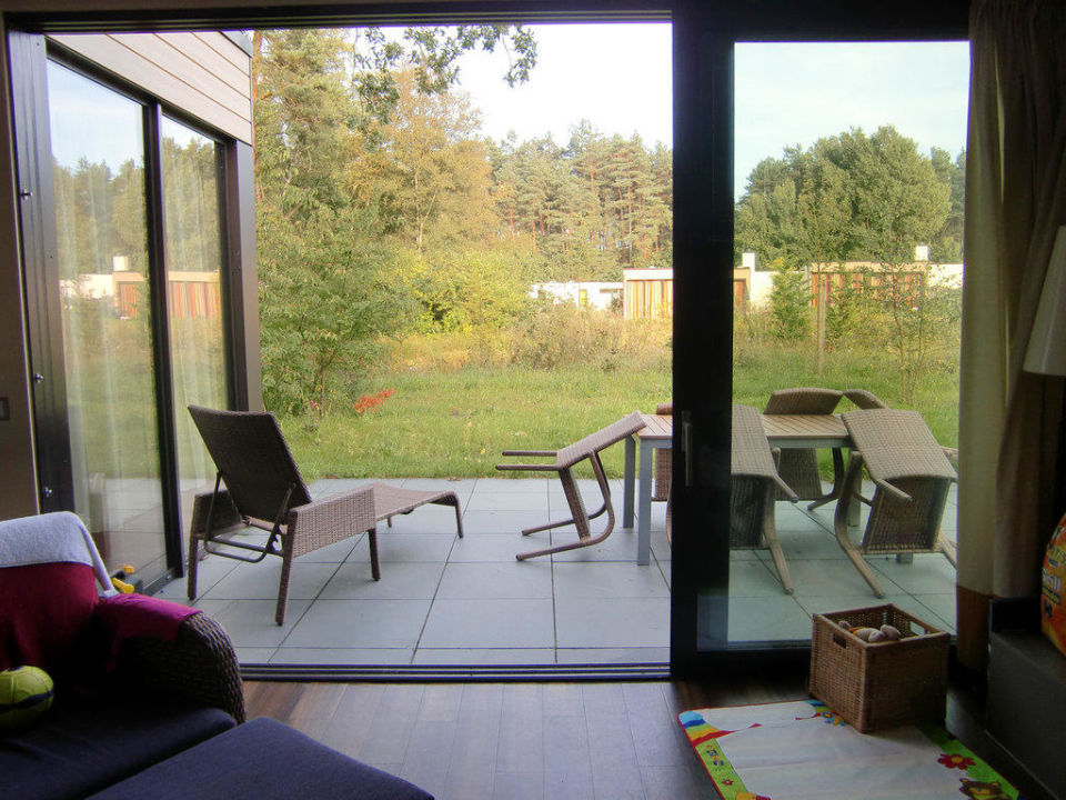 terrasse am vip haus center parcs bispinger heide bispingen holidaycheck niedersachsen. Black Bedroom Furniture Sets. Home Design Ideas