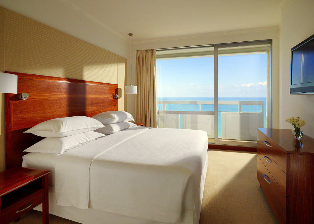 Mediterranean Suite Bedroom Sheraton Tel Aviv