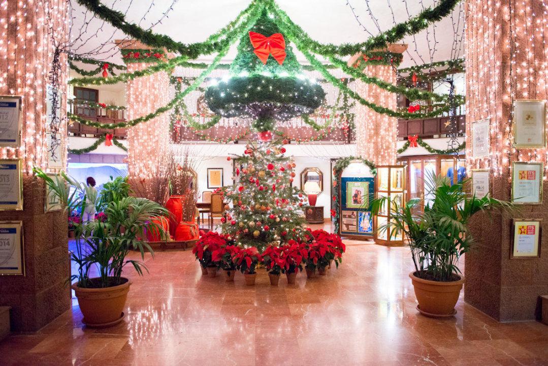 bild weihnachten zu hotel parque tropical in playa del. Black Bedroom Furniture Sets. Home Design Ideas