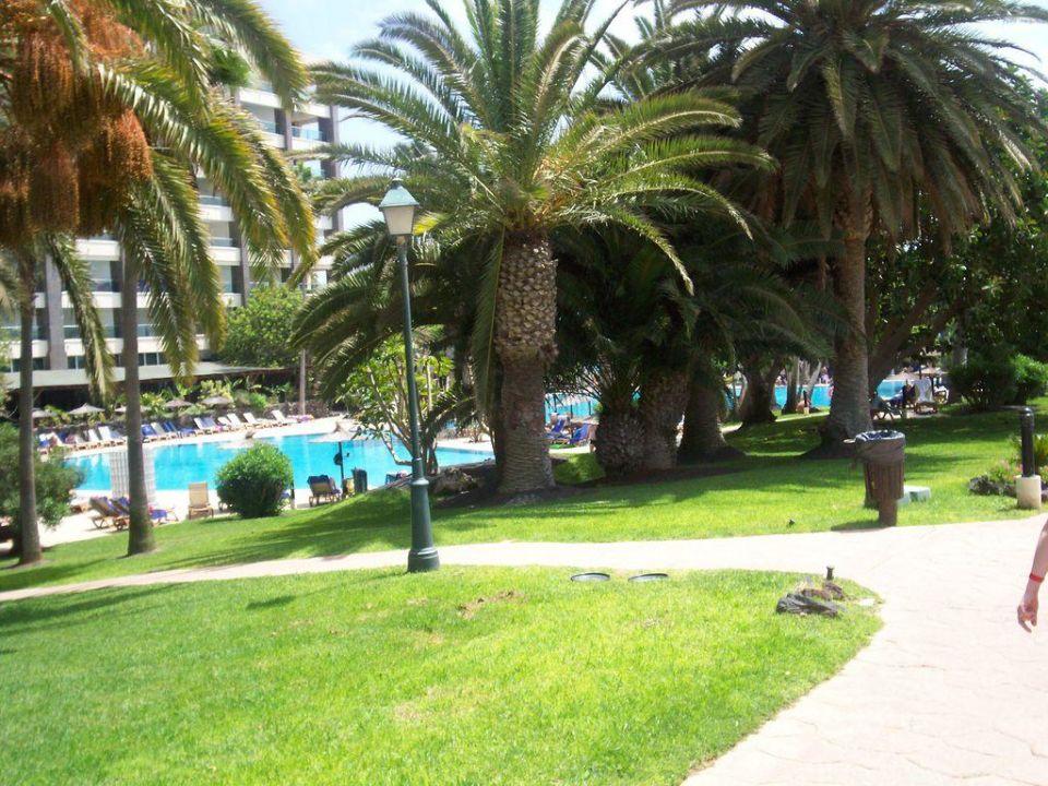 Der Weg zum Hotel mit Pool Melia Fuerteventura