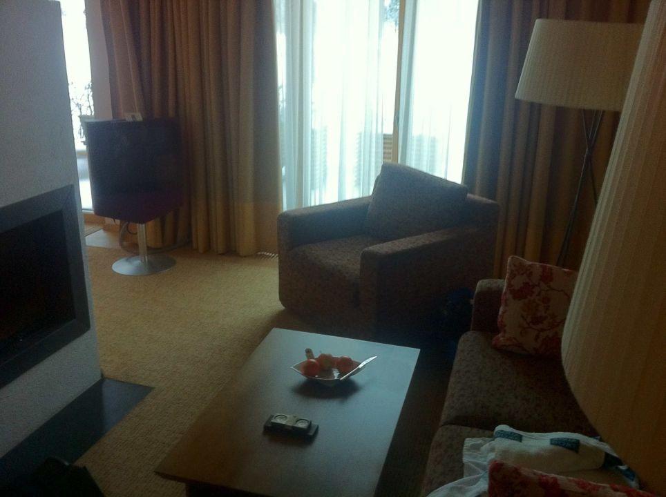 Zimmer mit Kamin Hotel AQUA DOME
