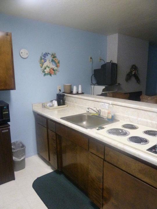 """küche/bar im wohnzimmer"""" hotel beachwalker inn in cayucos, Hause deko"""