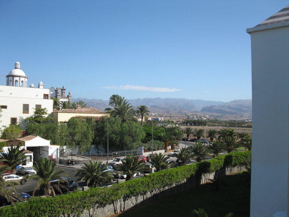 Blick Aus Zimmer Landseite Hotel Riu Gran Canaria Meloneras