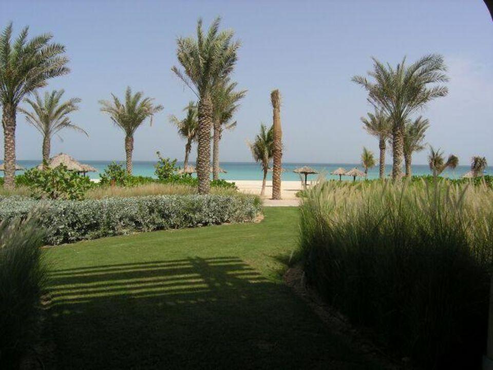 Dar al Masyaf - Ausblick aus unserem Villenzimmer (1. Strand Hotel Madinat Jumeirah - Dar Al Masyaf