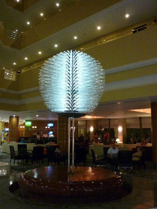 De lobby is erg gezellig Maritim Hotel Saray Regency