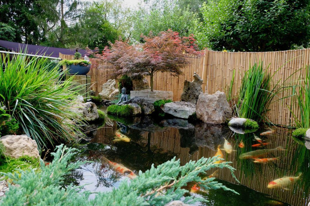 Gartenanlage Gästehaus Biedermann