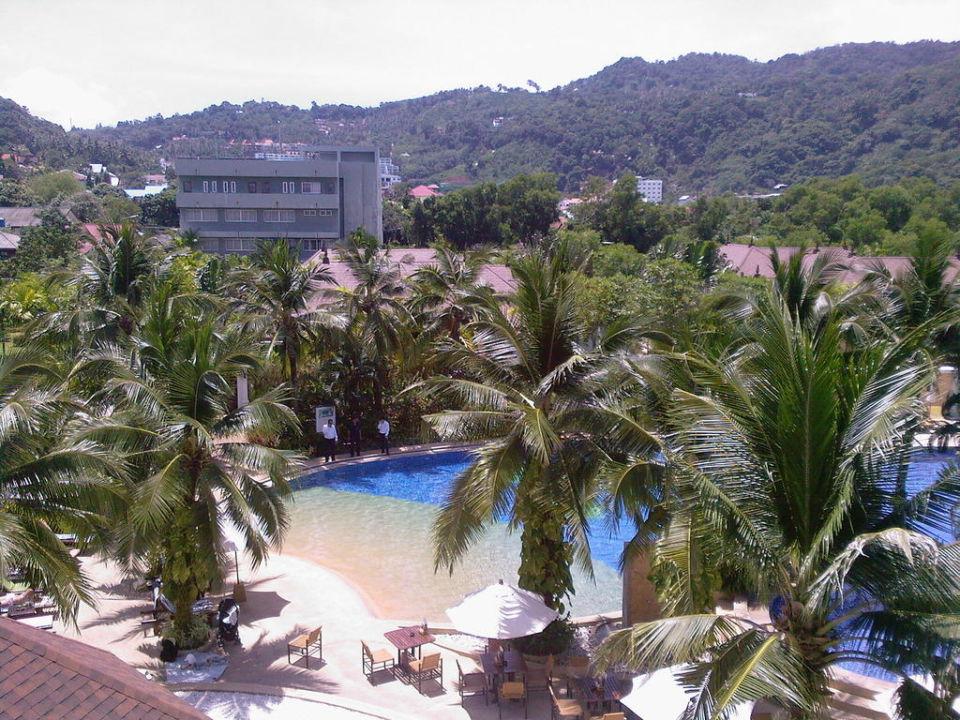 Ausblick vom Zimmer - 4. Etage! Alpina Phuket Nalina