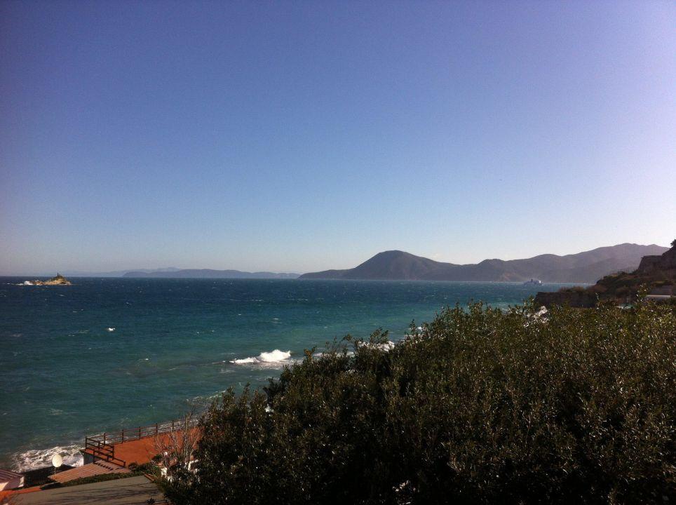 Blick vom Balkon Hotel Villa Ombrosa