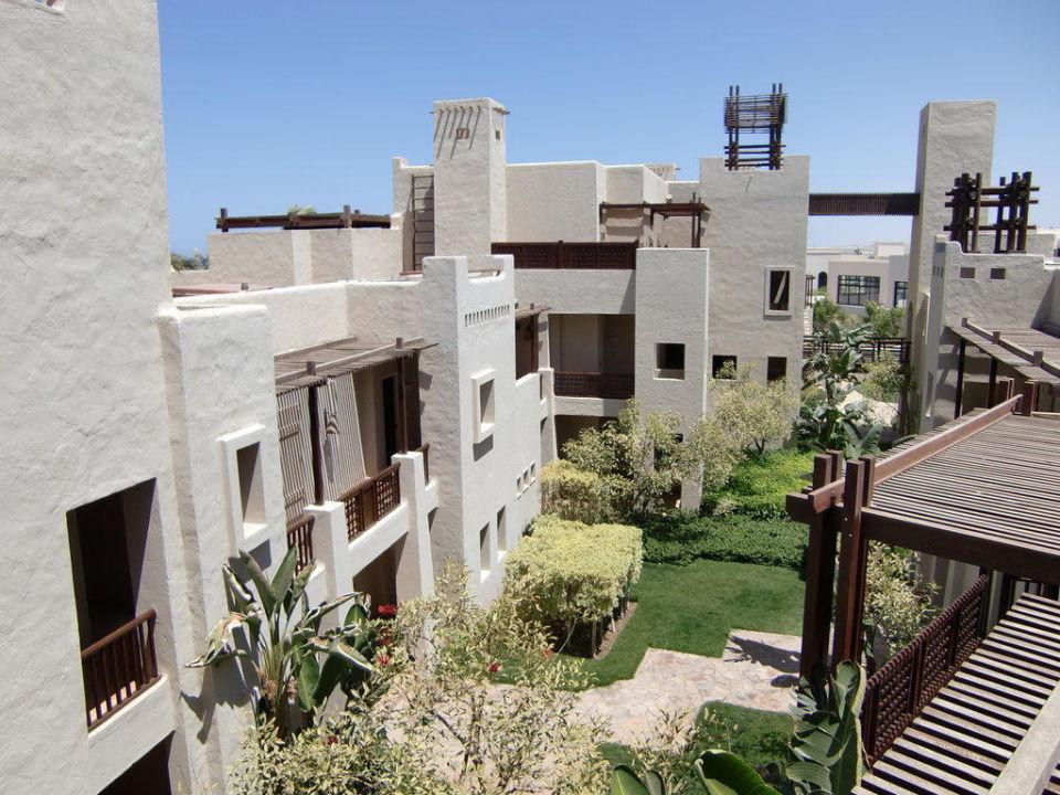 Hotelgebäude Siva Port Ghalib