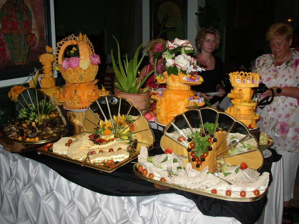 Essen im Restaurant Movie Gate Golden Beach Hurghada