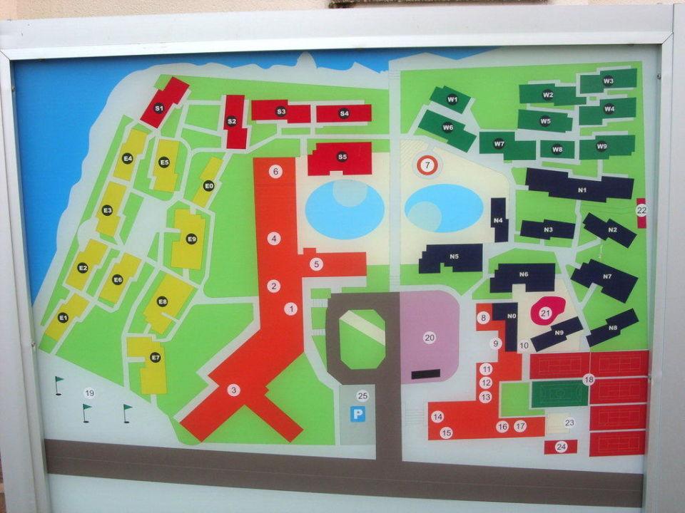 Ubersichtsplan Blau Punta Reina Resort Manacor Holidaycheck