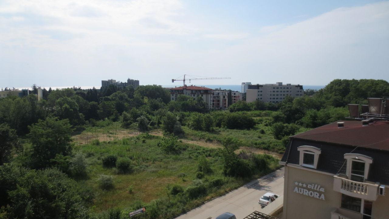 Ausblick Richtung Meer / Grandhotel Varna Hotel Aurora
