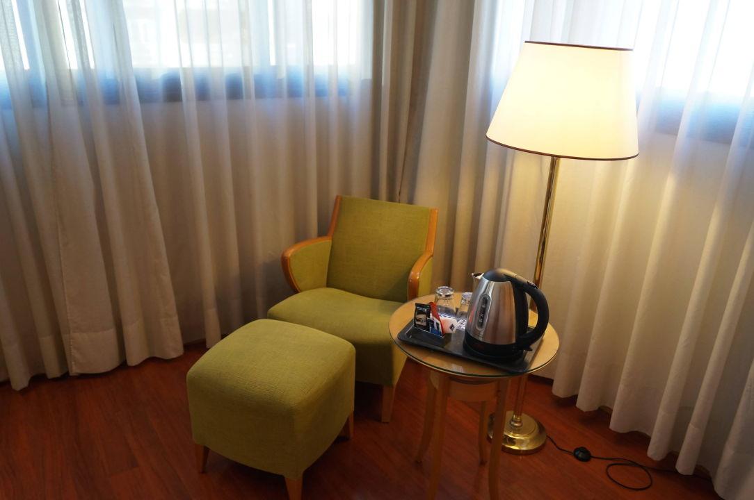 Угловой номер TRYP Málaga Alameda Hotel