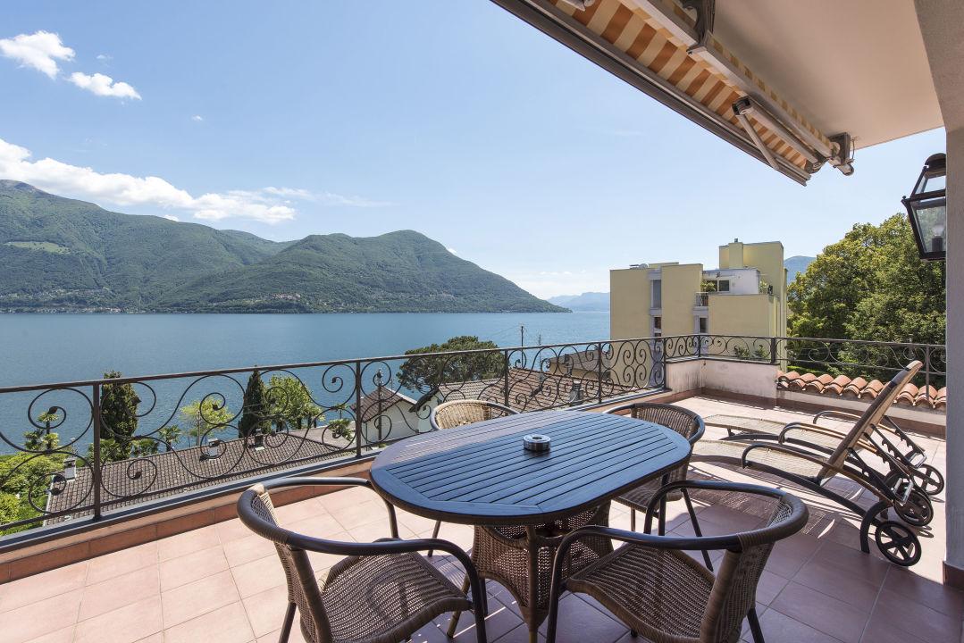Ausblick Sunstar Boutique Hotel Villa Caesar