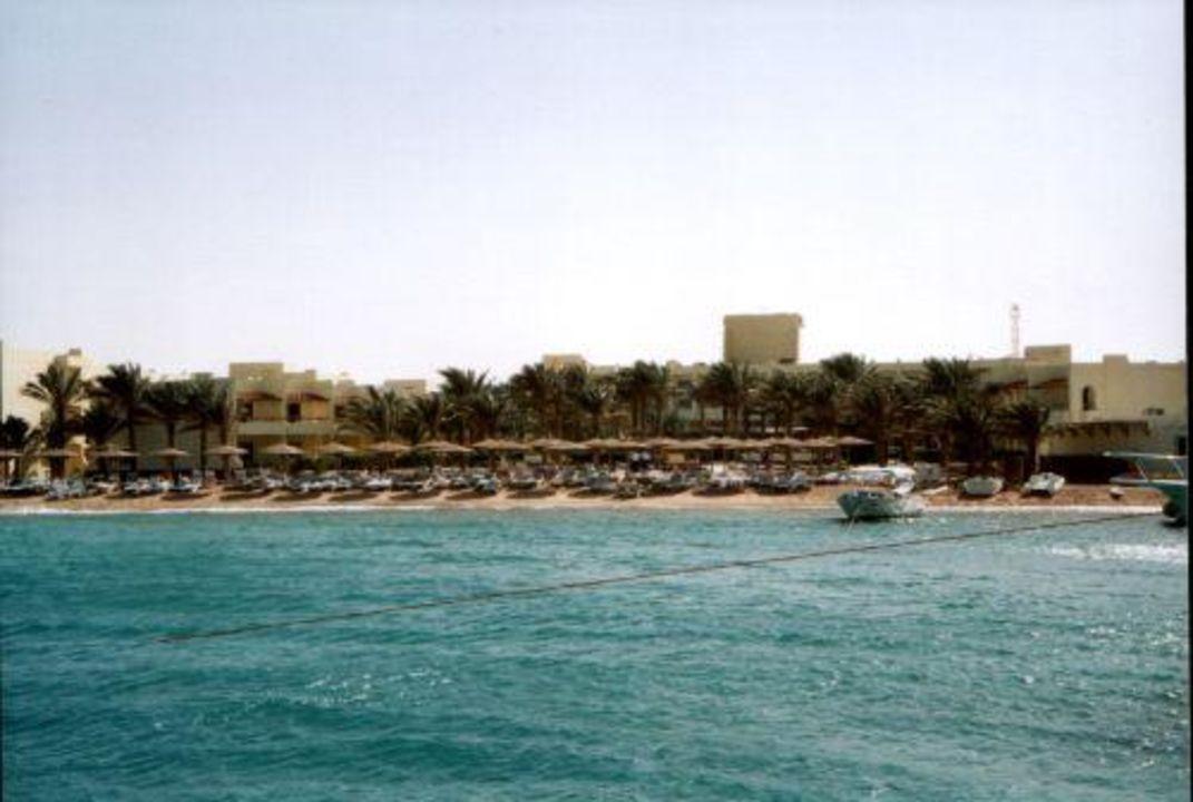 Strand vom Hotel Palm Beach Hurghada 2004 Hotel Palm Beach Resort