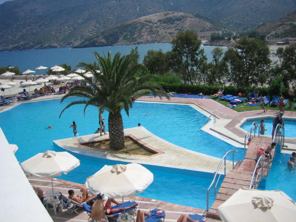 Hauptpool Fodele Beach & Water Park Holiday Resort