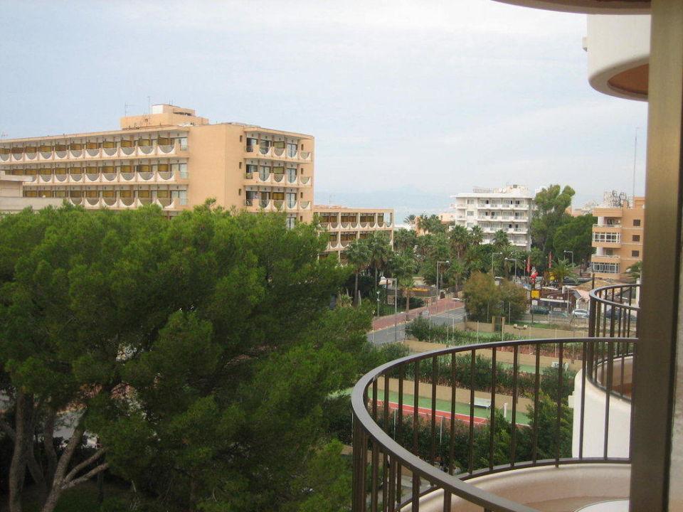 Ausblick von Junior-Suite 412 Hotel Riu Bravo