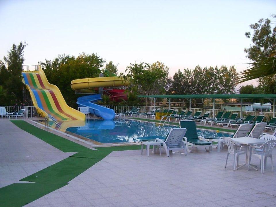 Die Wasserrutschen Hotel Sidelya Club