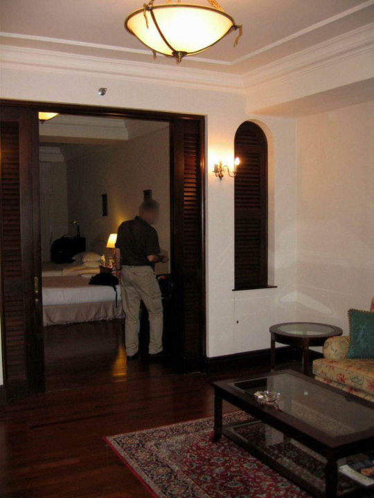 From living room to bedroom Eastern and Oriental Hotel Penang