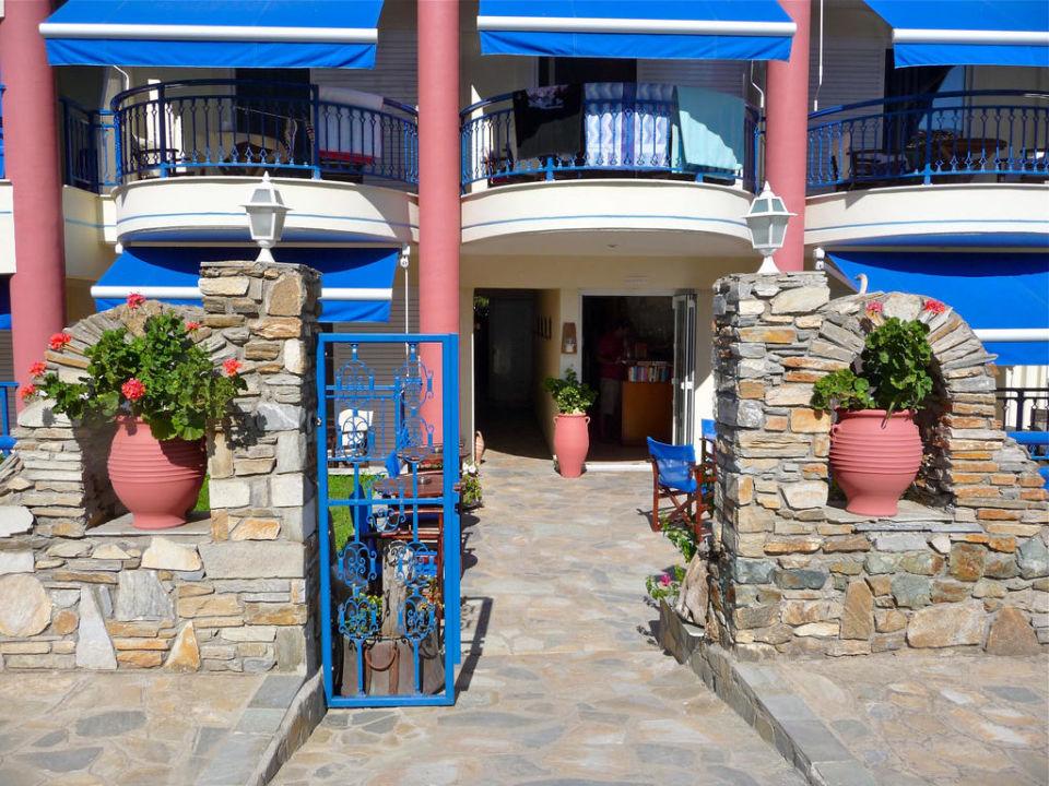 Eingangsbereich Hotel Apollon