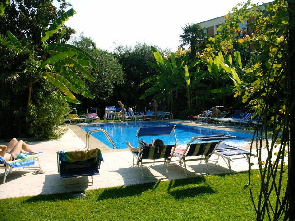Pool und Liegewiese 4 Stagioni Hotel & Spa