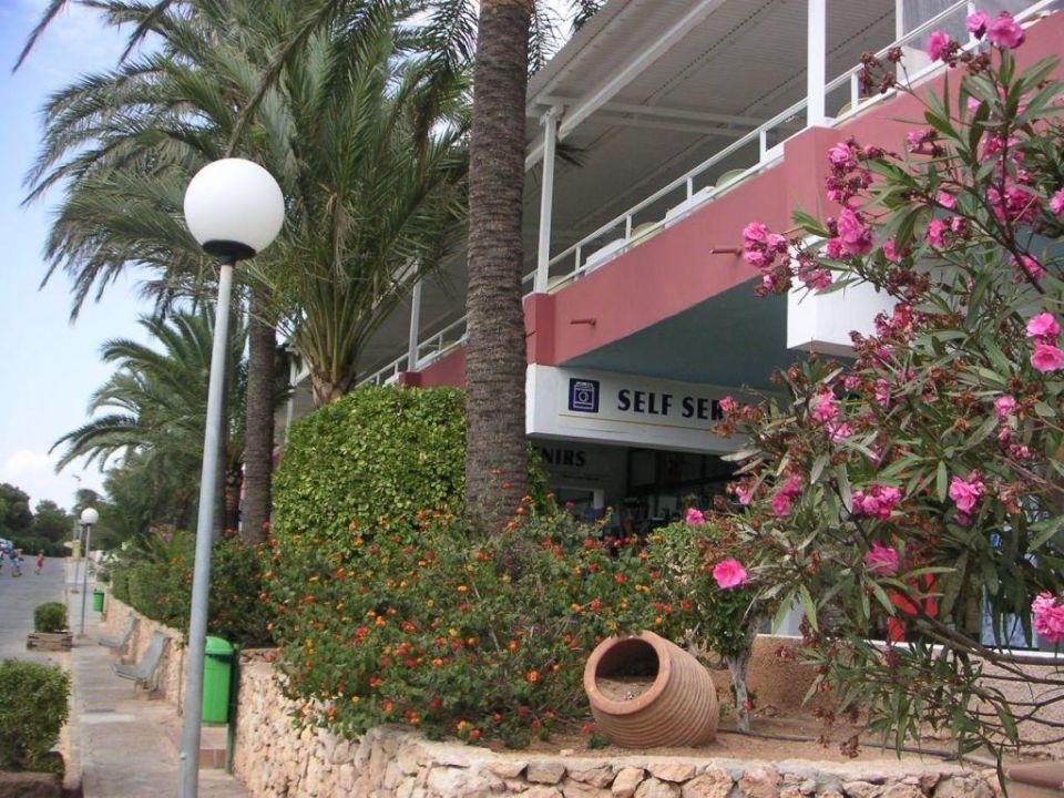 Ladenstraße im Hotel Sun Club Eldorado
