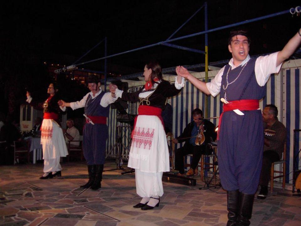 Griechische Folklore Hotel Imperial Belvedere