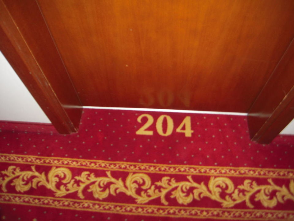 Vor dem Zimmer Hotel Piccadilly