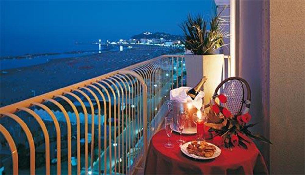 Vista dalla camera Hotel Beaurivage
