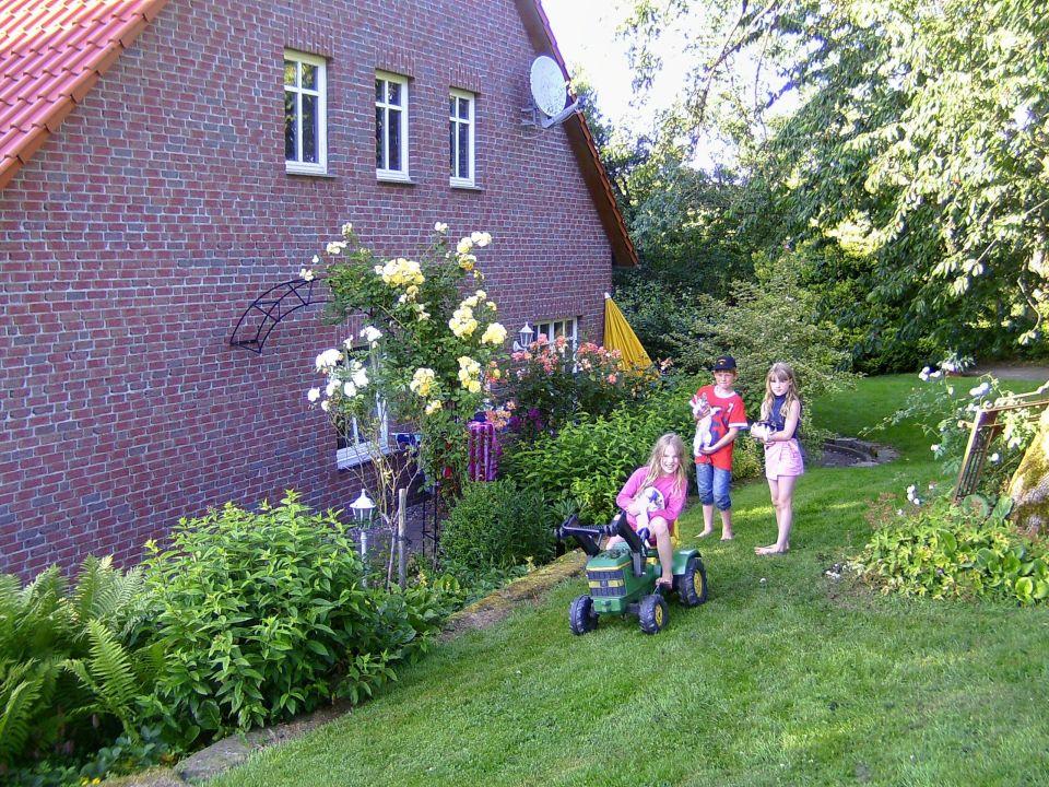 Garten Wohnung Pferdestall Ferienwohnungen Hof Timmermann