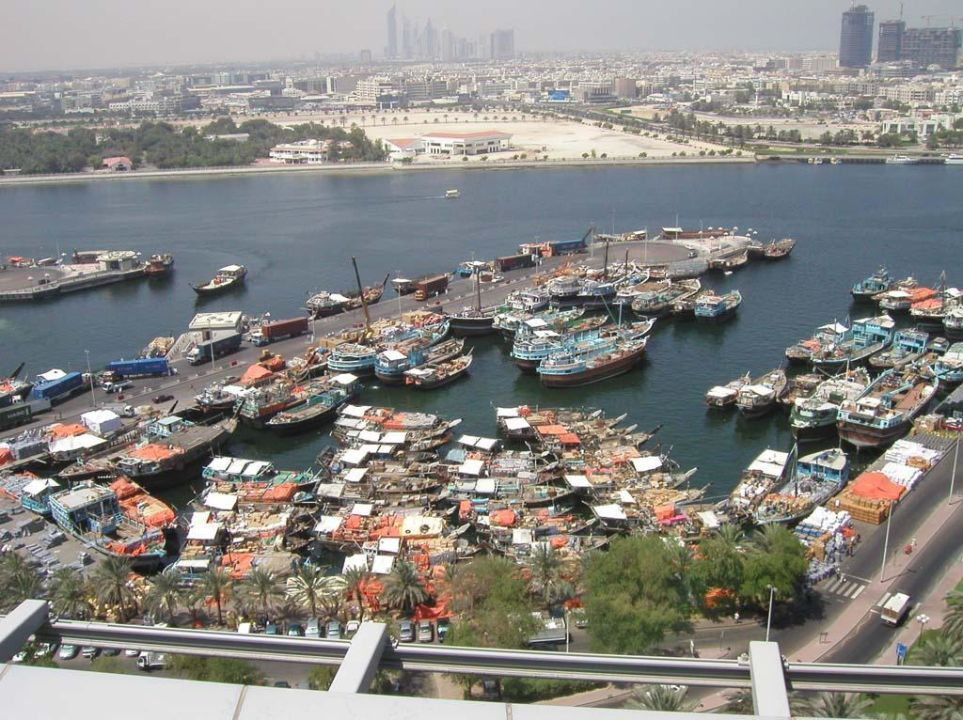 Dubai Hilton Creek auf dem Dach #6 Hilton Dubai Creek