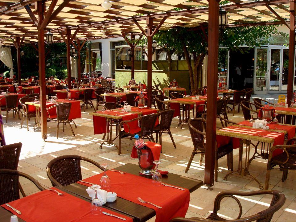 restaurant au enbereich zur mittagszeit t rkiz beldibi resort spa geschlossen beldibi. Black Bedroom Furniture Sets. Home Design Ideas