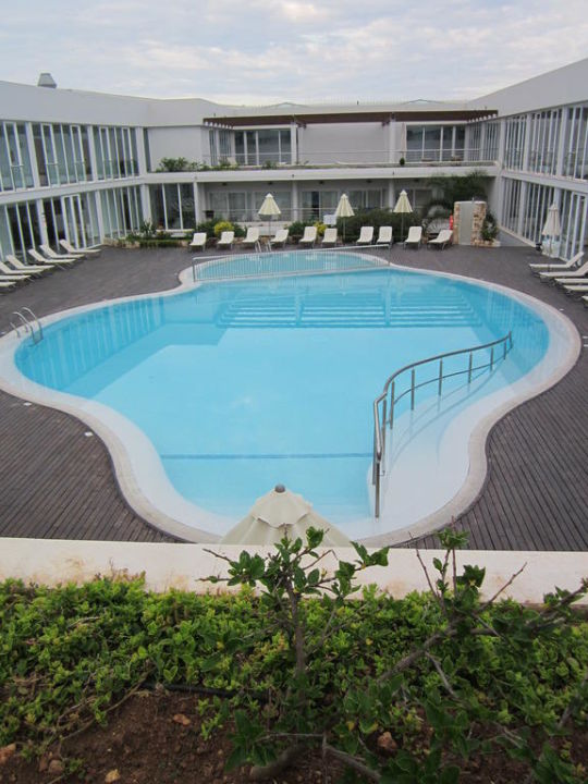 Blick Von Sonnenterrasse Hotel Port Ciutadella Ciutadella