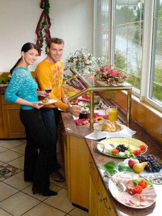 Frühstücksbuffet Sporthotel Schieferle