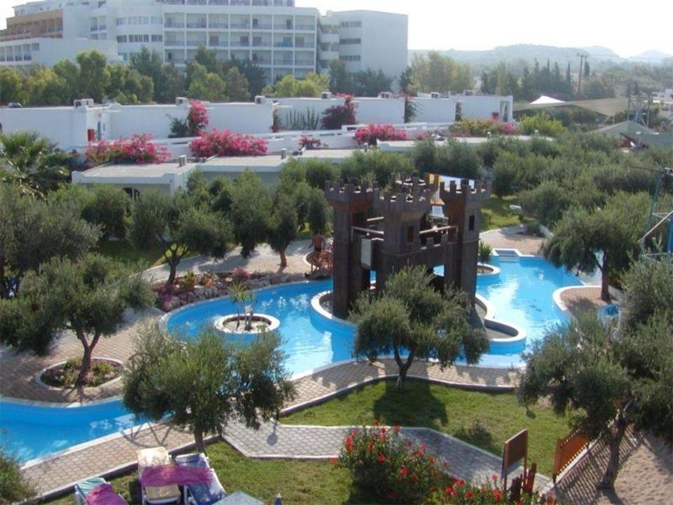 Poolgarten Hotel Alex Beach