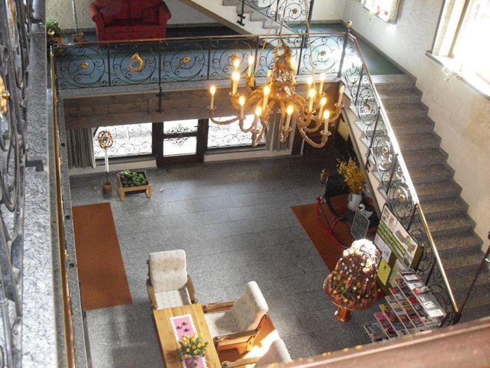 Hotellobby St. Hubertus Gästehaus der Nature Community